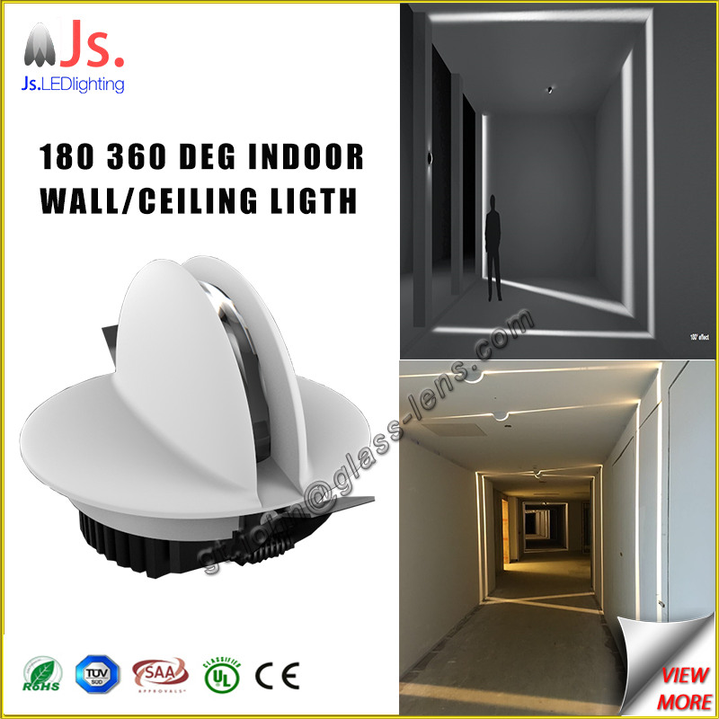 CE Approved condominium illumination residential LED border light, wall light for hotel