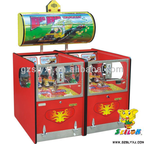 Big big truck kids coin operated lottery skill game machine