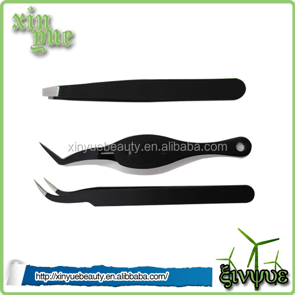 Stainless Steel Private Label Wholesale Eyebrow Tweezers set