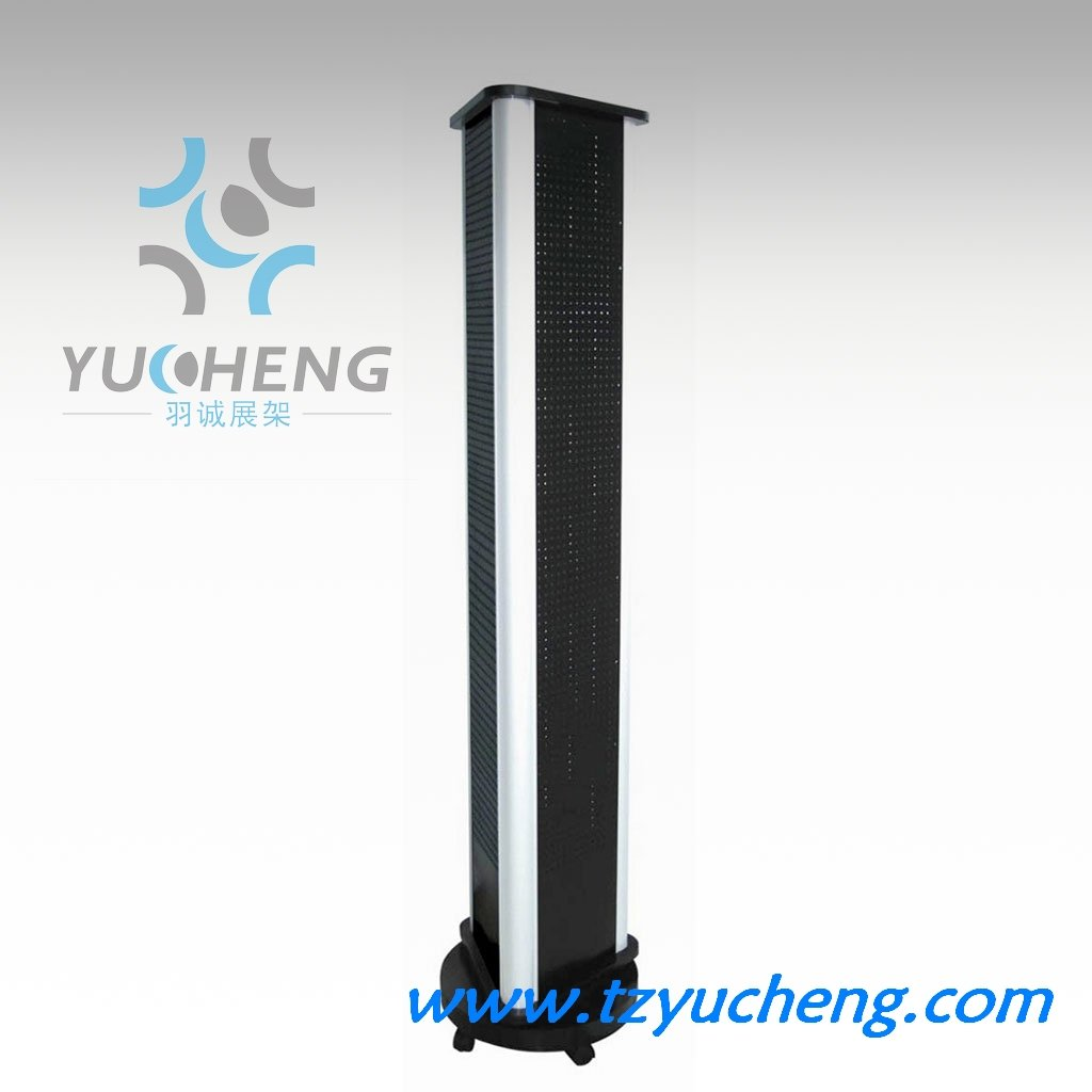 [YUCHENG] Pegboard jewellery floor display unit A305