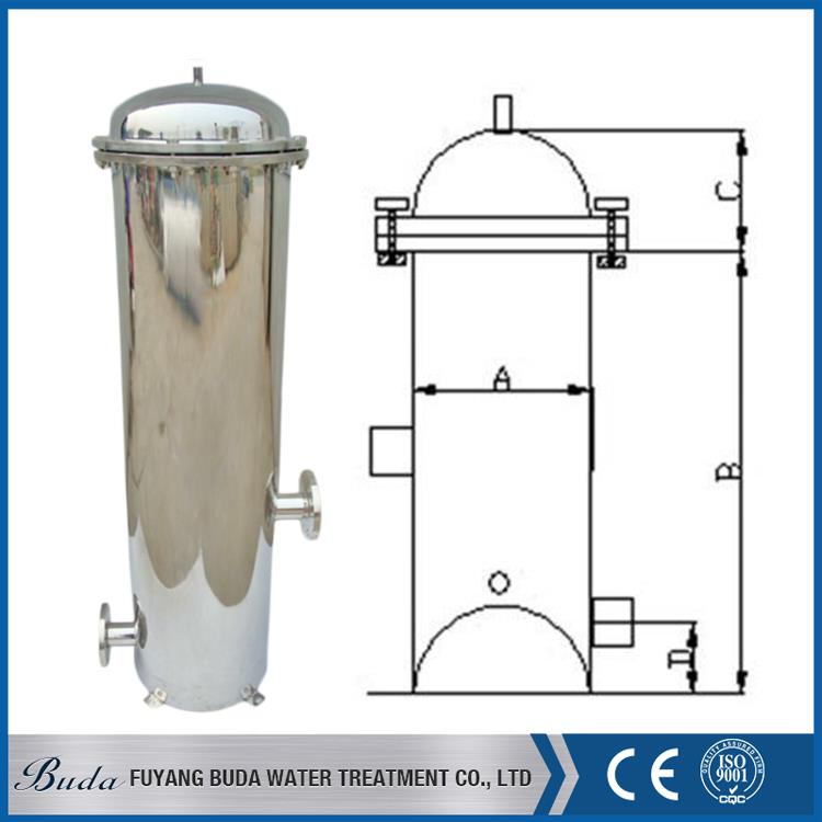 Hot sale fiberglass tank, sanitary filter housings, dust bag filter housing