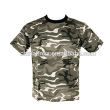 military army men's digital camouflage camo T shirt short sleeves