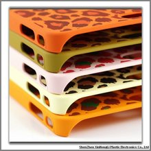 Leopard print cell phone cases for iPhone 4G/4GS within factory price