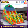 2017 cheap jungle giant inflatable slide rental for party event