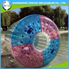 Swimming pool games inflatable rolling ball, inflatable cylinder for fun