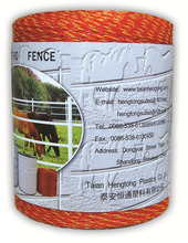 5000 feet 3-strand polywire for electric sheep fence temporary fence
