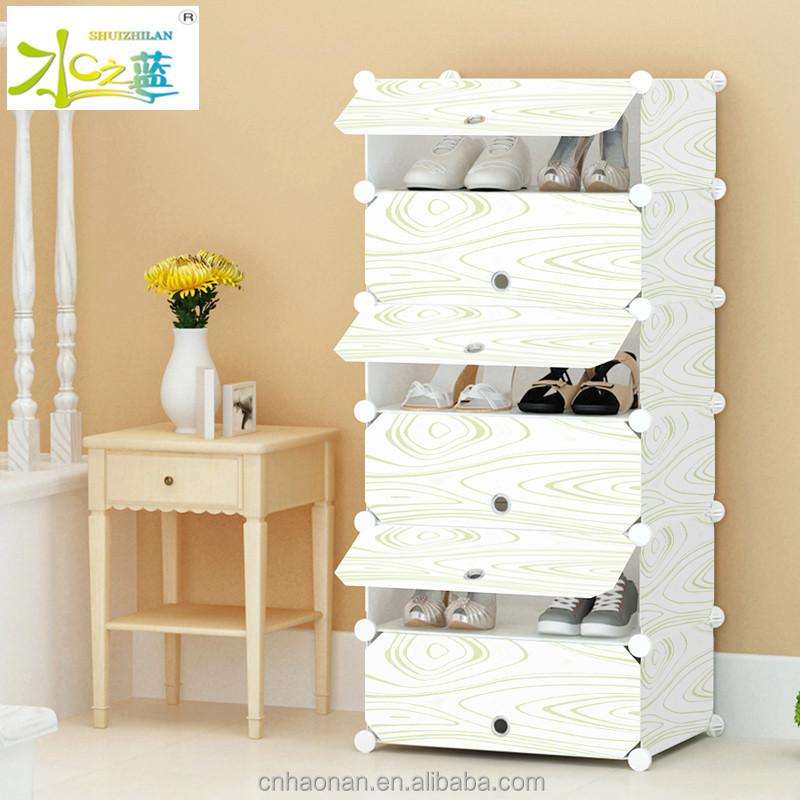 cloth assemble style shoe cabinet With Professional Technical Support