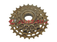 Brown,CP,Black finished 6 speed index freewheel,bicycle/bike cassette freewheel,MTB freewheel