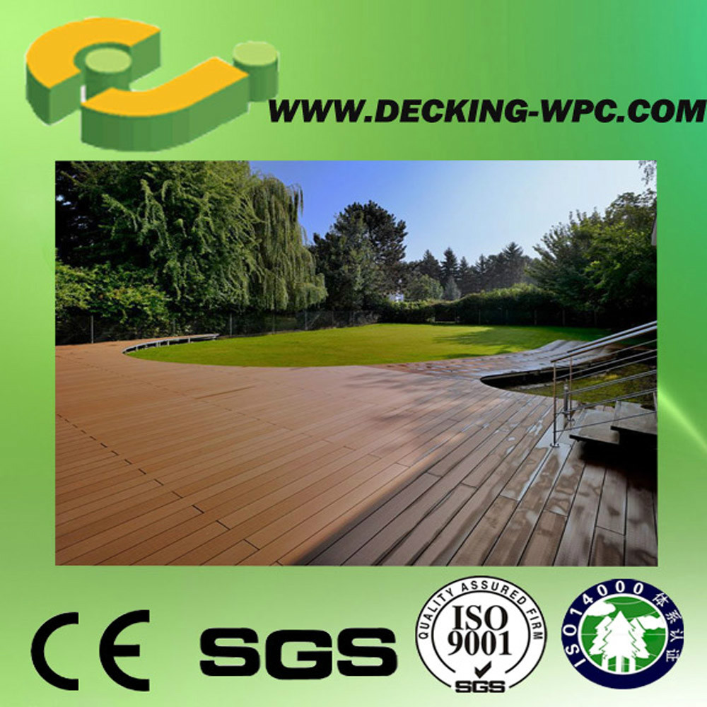 35% HDPE Wpc Decking With Ce Certificate