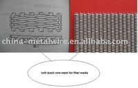 Stainless Steel Filter Cloth For Filter Media 316L 40x200 mesh