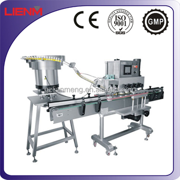Aluminum Cap Screw Capping and Sealing Machine