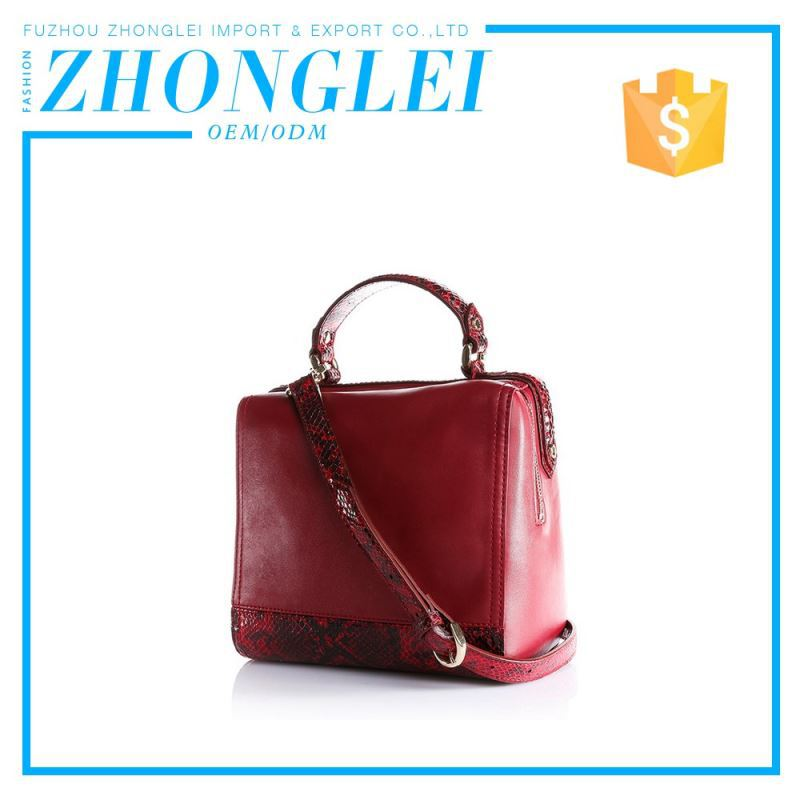 Highest Quality Regular Size Business Genuine Leather Handbag Made In Mexico