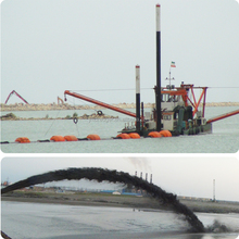 Canal Dredging Suction Machine with Cutter Head