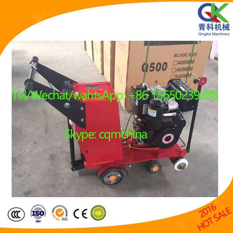 walk behind gasoline robin honda electric asphalt floor road concrete cutter cutting saw machine