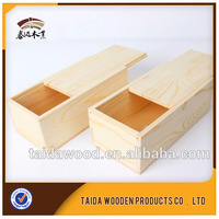 China Wholesale Slide Top Finished Wood Box