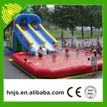 Customized Inflatable Water Pool Slide Cheap Inflatable Water Slide For Sale 2016