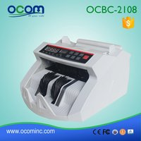 Cheap bill money counter fake currency detector machine
