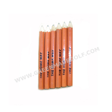 Hex wood bulk #2 pencils mini pencils cheap bulk mini golf pencils