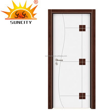 Wooden door with finger joint timber door frame SC-W047