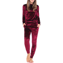 Bonvatt autumn new pattern casual sportswear sets printed sportswear sets