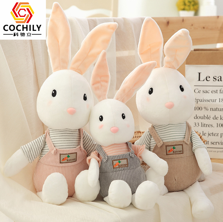 Wholesale new and creative plush love rabbit big hug toy present stuffed <strong>animals</strong>