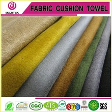 polyester/spandex 4 way stretch suede fabric weft-knitted suede