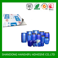 water based acrylic polymer adhesive /glue for PE protective film
