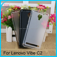 Wholesale soft tpu protective pudding case for Lenovo Vibe C2,tpu back cover case for Lenovo Vibe C2
