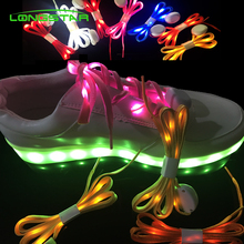 Glow in Dark Night Sport Nylon Led Shoe accessories Led Shoelaces
