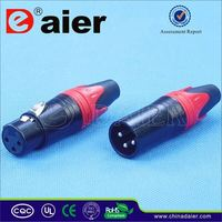 Daier 4 pin xlr male connector