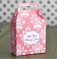 gift box with handle wedding favor chocolate box