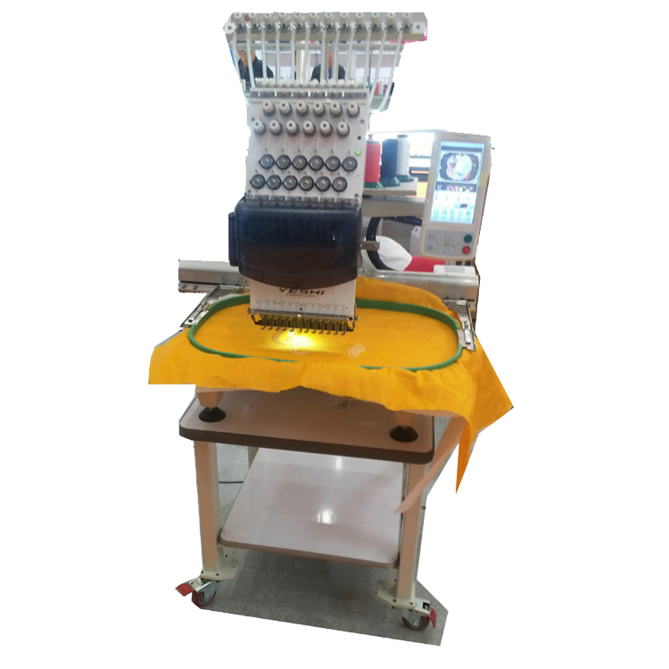 single head flat+bead+mixed embroidery machine