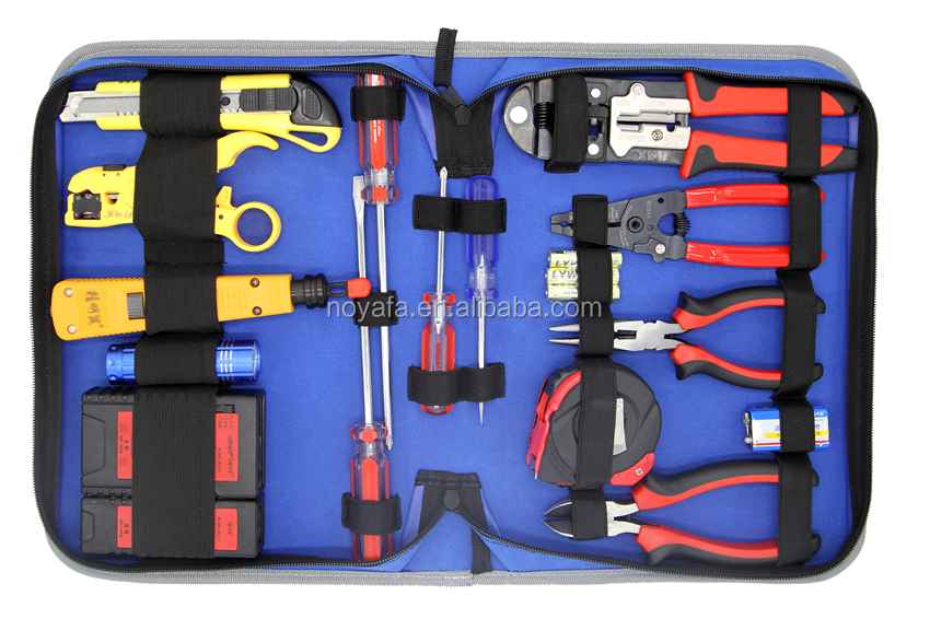 2017 NOYAFA Toolkits NF-1207 Stripping plier with voltage detector