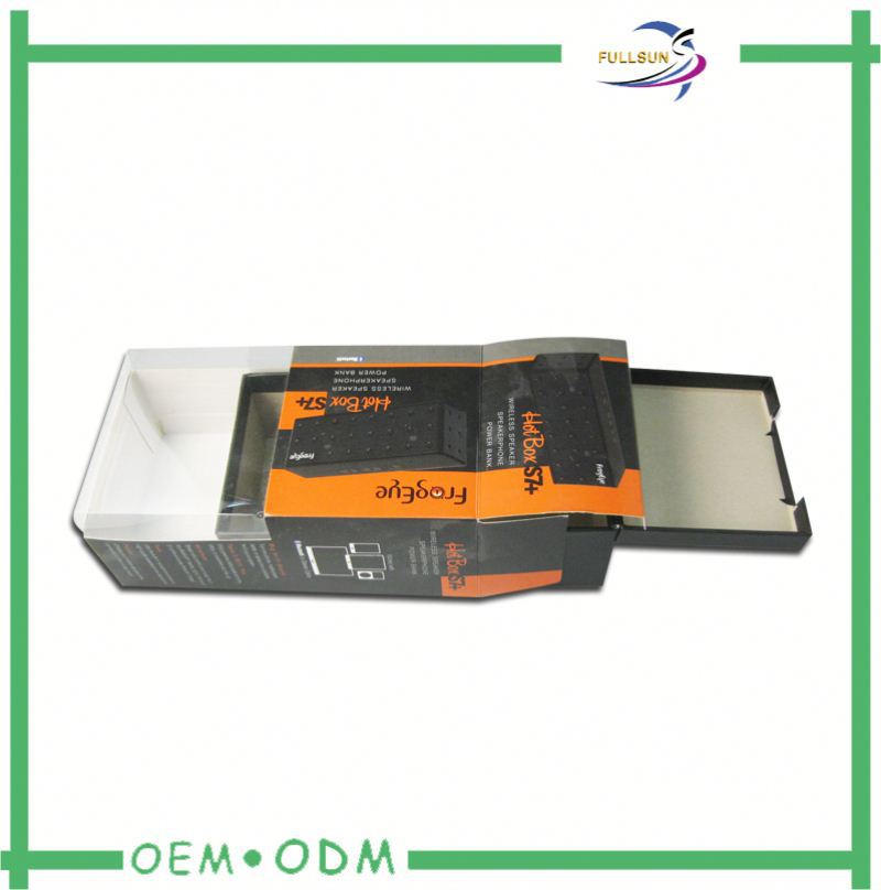 clear package box for electronic accessories
