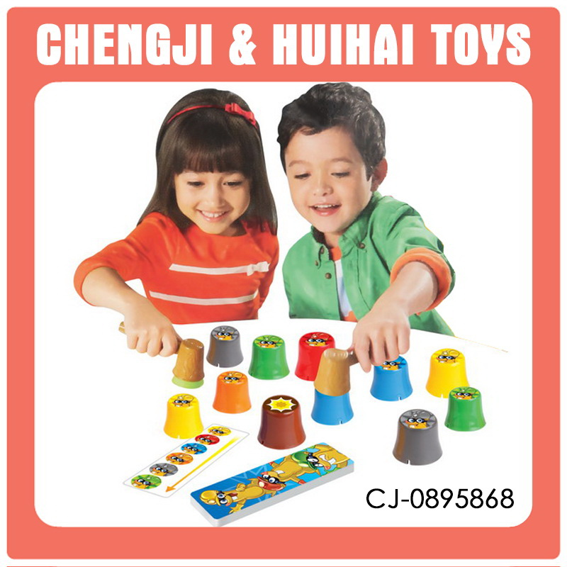 New Design Custom plastic baby miniatures educational toy boardgame