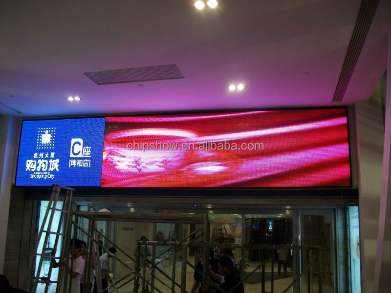 P3.33 indoor full color advertising led walking billboards