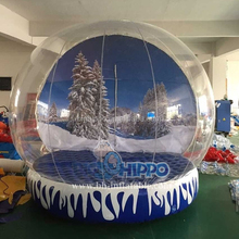 Popular inflatable snow globe for Christmas