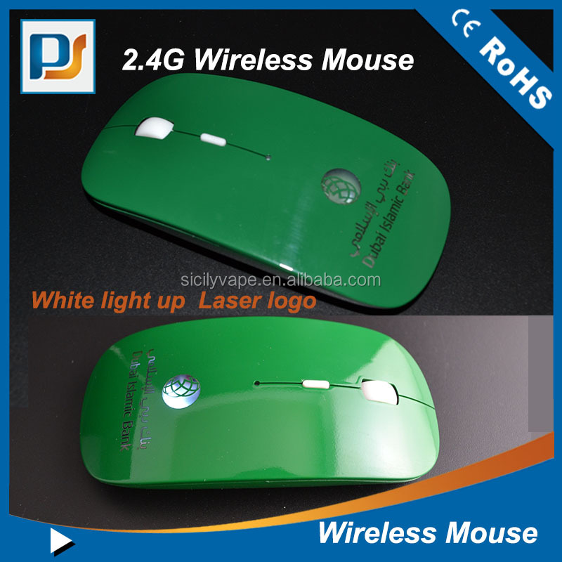 Christmas gift ultra-thin wireless mouse/Bluetooth wireless Optical mouse ,super slim mouse