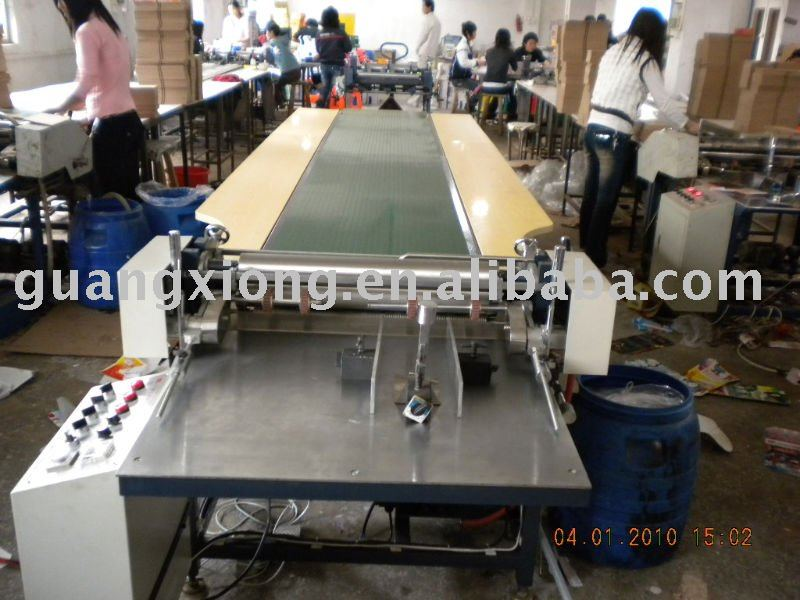 gluing machine with component/Hot melt glue package machine