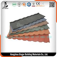 Bond Type 0.5mm Steel Plate Roof Sheets, Color Galvalume Metal Roofing Price