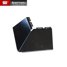Sheetwell Super Quality Carbon Steel Sheet Metal Bending Service For Fidge Cap/Steel Roof Corner