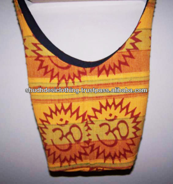 handmade cotton jhola shoulder bags from pushkar fair