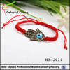 Red wax rope kint bracelet evil eye bracelet for woman China Supplier Wholesale