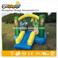 Giant Metal Kids Love Space Inflatable Water Slide For Sale