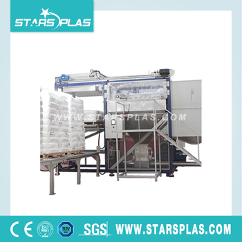 Automatic bag emptying breaking machine