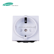 High Quality New Designed German Industrial Electric 3-way power socket outlet
