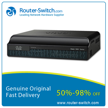 New Cisco 1900 serial router with One year warranty 1941/k9