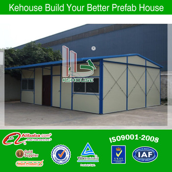 Light steel structural design of small houses for worker living fast building hot sale in 2013