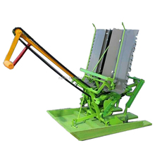 walk behind planter rice paddy transplanter farm seeder machine