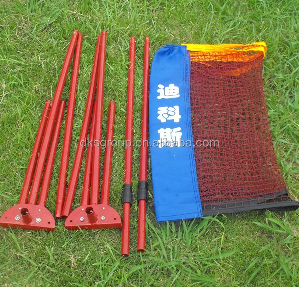 Soccer tennis net with poles, Portable and foldable